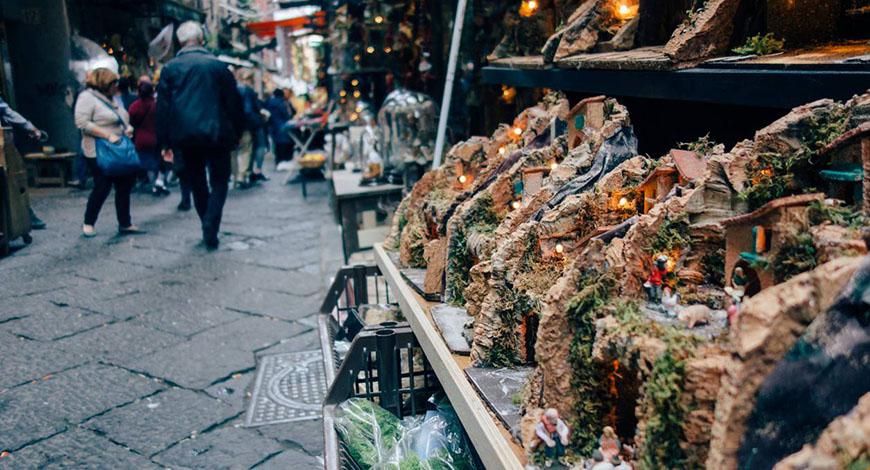 Napoli nei vicoli di Natale